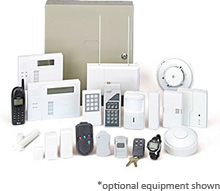 1-800-4-Alarms home security system